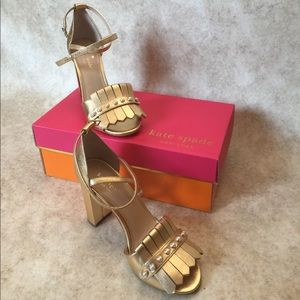 4bd1fc159f89 kate spade Shoes - 🌟Kate Spade pearl open toe heels loafer style NWT